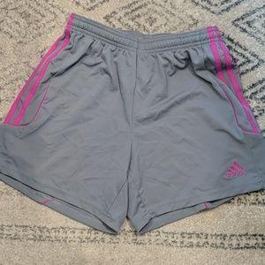 Adidas size small climalite shorts